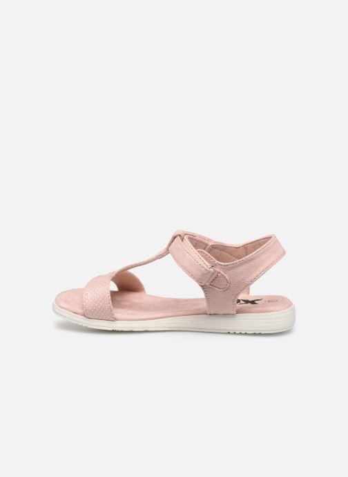 Sandales et nu-pieds Xti 56847 Beige vue face