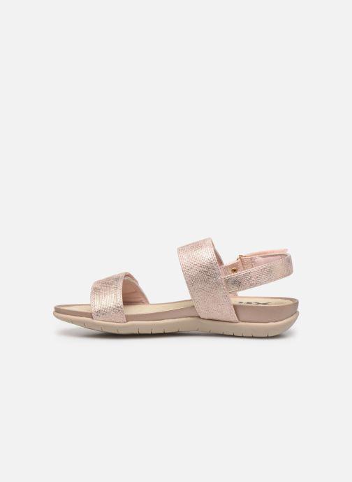 Sandales et nu-pieds Xti 56854 Beige vue face