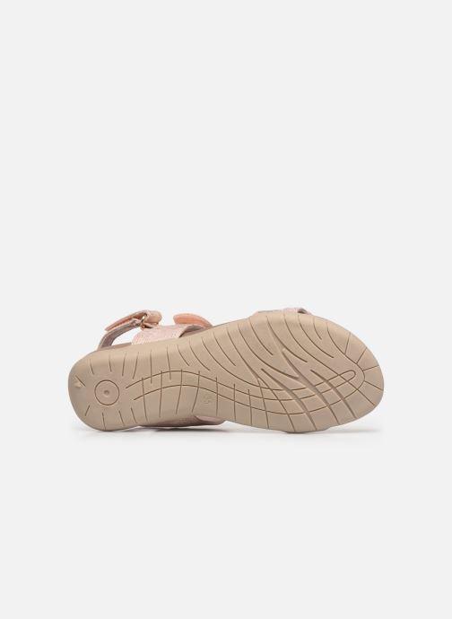 Sandales et nu-pieds Xti 56854 Beige vue haut