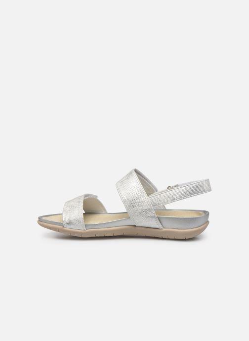 Sandales et nu-pieds Xti 56854 Argent vue face
