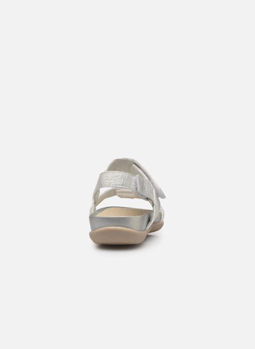 Sandales et nu-pieds Xti 56854 Argent vue droite