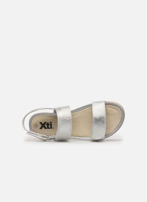 Sandales et nu-pieds Xti 56854 Argent vue gauche