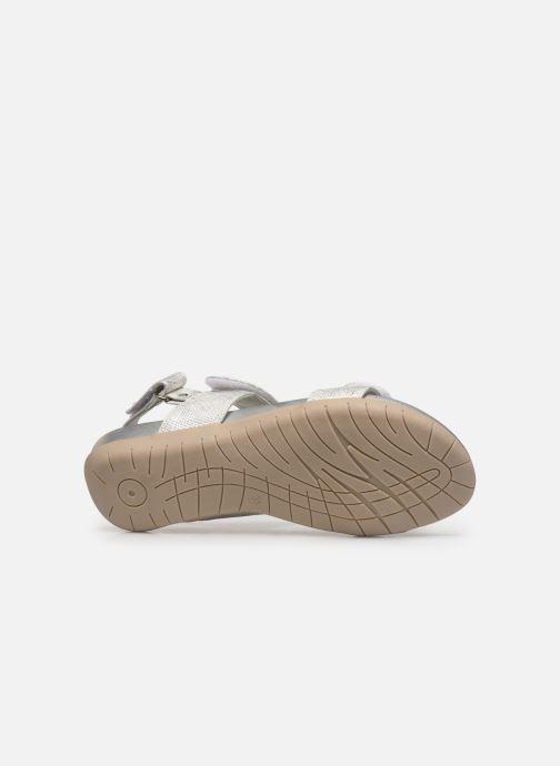 Sandales et nu-pieds Xti 56854 Argent vue haut