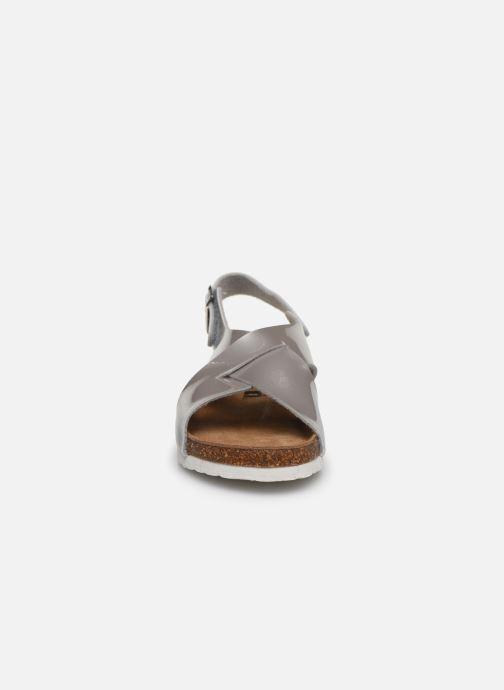 Sandales et nu-pieds Xti 56862 Argent vue portées chaussures