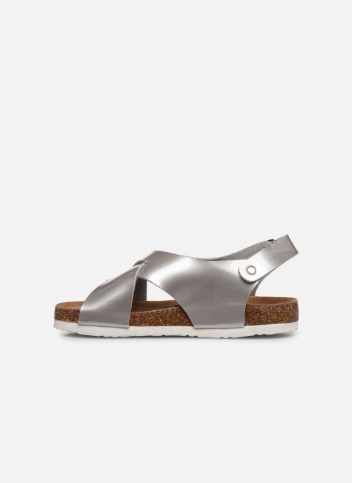 Sandales et nu-pieds Xti 56862 Argent vue face