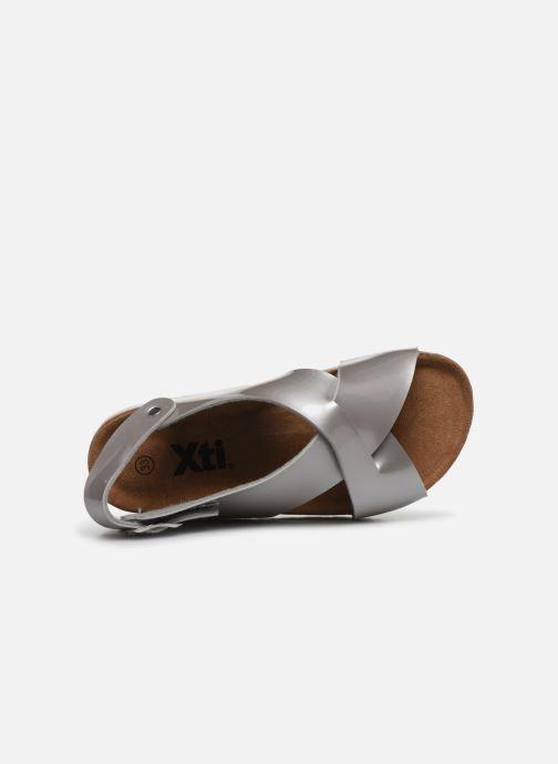 Sandales et nu-pieds Xti 56862 Argent vue gauche