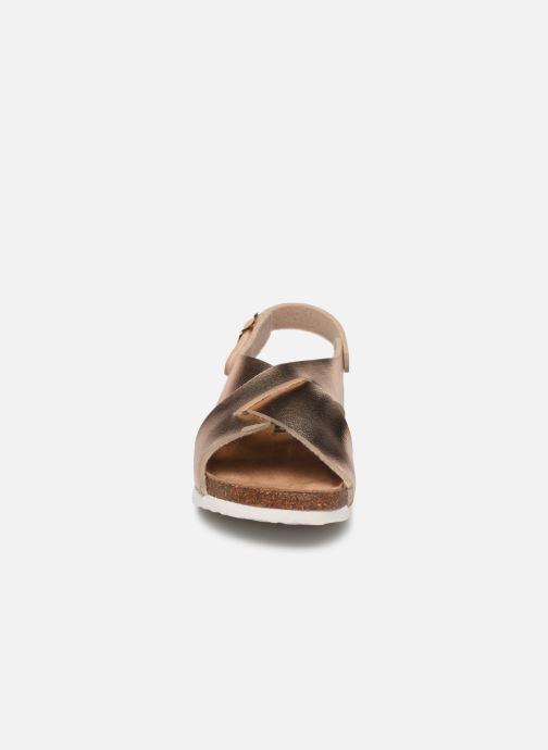 Sandalen Xti 56862 beige schuhe getragen