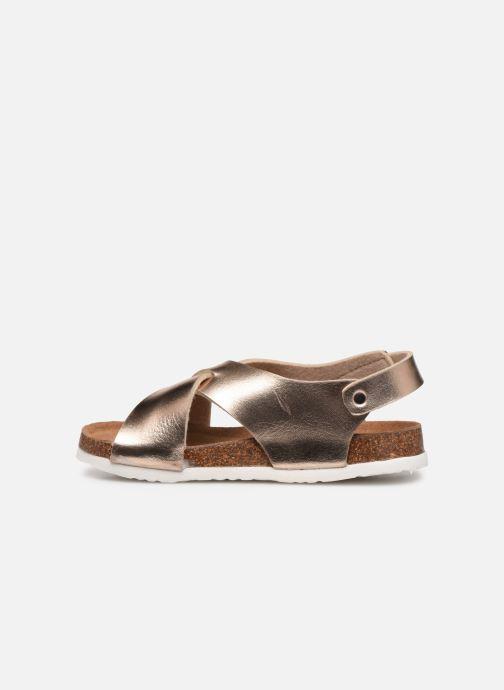 Sandales et nu-pieds Xti 56862 Beige vue face