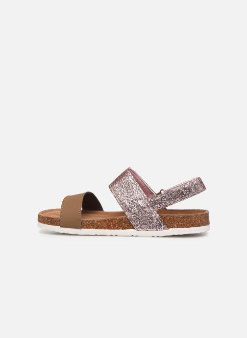 Sandales et nu-pieds Xti 56863 Marron vue face