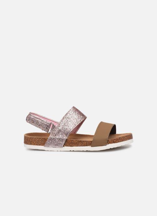 Sandales et nu-pieds Xti 56863 Marron vue derrière