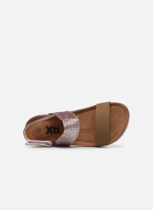 Sandales et nu-pieds Xti 56863 Marron vue gauche