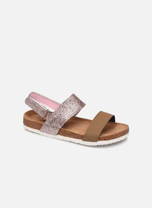 Sandales et nu-pieds Xti 56863 Marron vue détail/paire