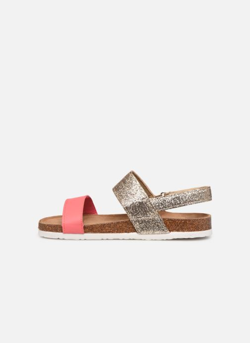 Sandales et nu-pieds Xti 56863 Or et bronze vue face