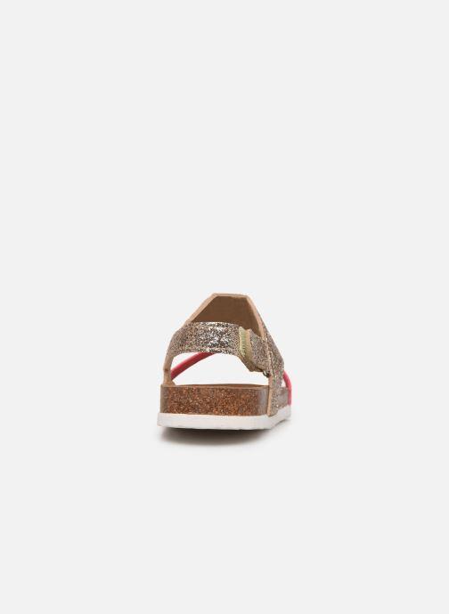 Sandales et nu-pieds Xti 56863 Or et bronze vue droite
