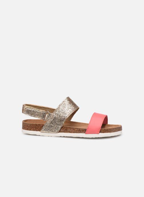 Sandales et nu-pieds Xti 56863 Or et bronze vue derrière