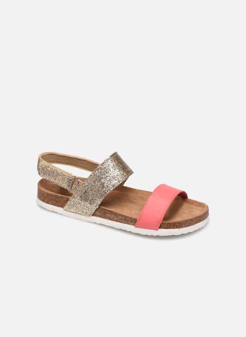 Sandales et nu-pieds Xti 56863 Or et bronze vue détail/paire
