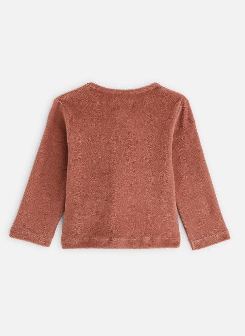 Vêtements Les Petites Choses Cardigan GABY volanté Marron vue bas / vue portée sac