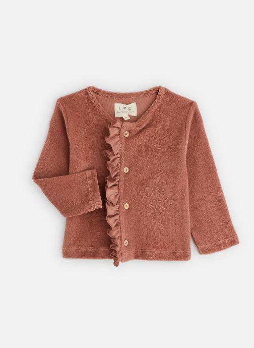 Vêtements Les Petites Choses Cardigan GABY volanté Marron vue détail/paire
