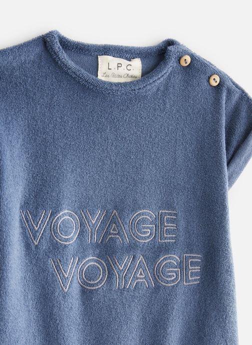Vêtements Les Petites Choses Combicourt LUCAS Bleu vue portées chaussures