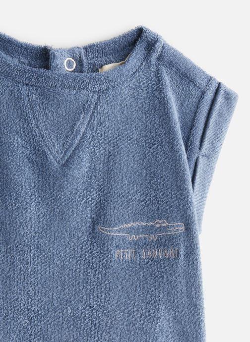 Vêtements Les Petites Choses T-Shirt SOCOOL Bleu vue portées chaussures