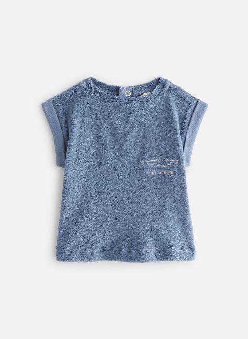 Kleding Les Petites Choses T-Shirt SOCOOL Blauw detail