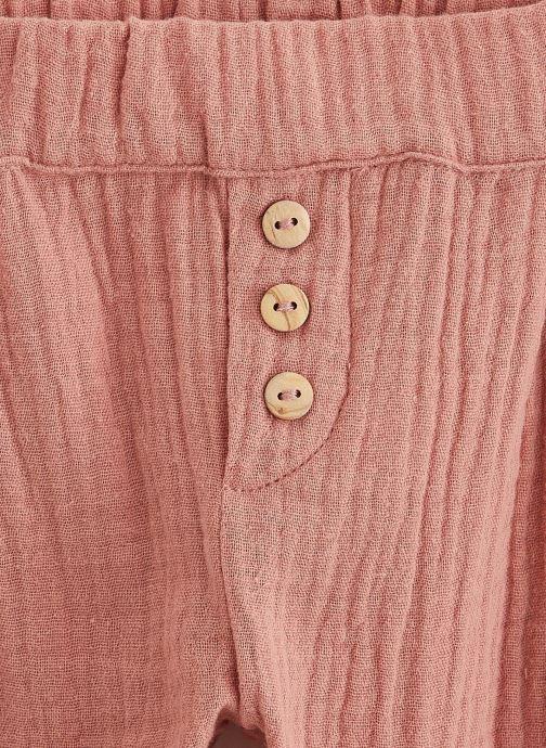 Vêtements Les Petites Choses Pantalon en gaze PACO Marron vue portées chaussures