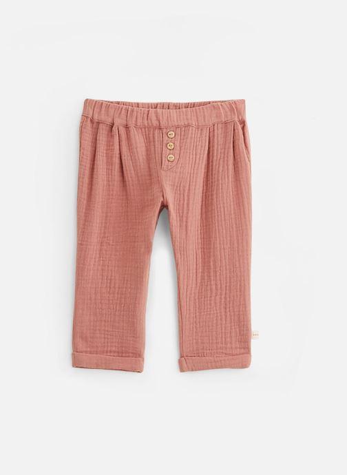 Vêtements Les Petites Choses Pantalon en gaze PACO Marron vue détail/paire