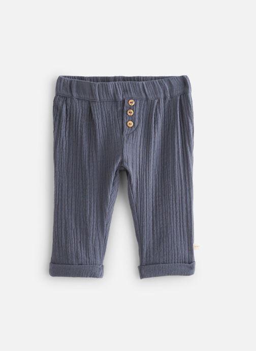 Vêtements Les Petites Choses Pantalon en gaze PACO Bleu vue détail/paire