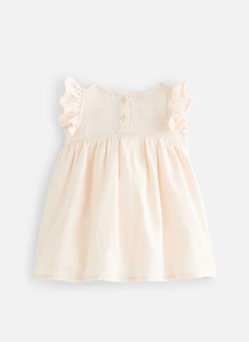 Vêtements Les Petites Choses Robe en gaze REHANNE Rose vue bas / vue portée sac