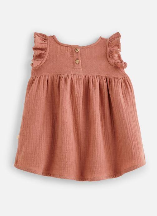 Vêtements Les Petites Choses Robe en gaze REHANNE Marron vue bas / vue portée sac