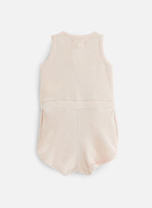 Vêtements Les Petites Choses Combicourt SARA Rose vue bas / vue portée sac