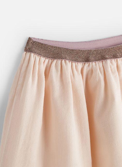Vêtements Les Petites Choses Jupe en gaze JOYCE Rose vue portées chaussures
