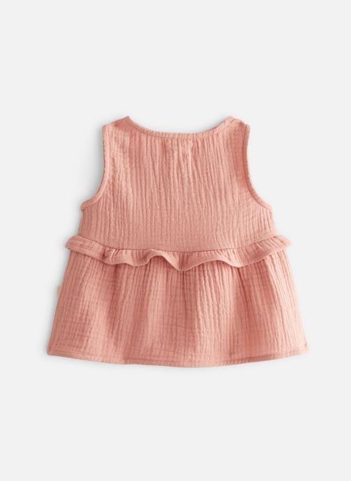 Vêtements Les Petites Choses Blouse en gaze BASHA Marron vue bas / vue portée sac