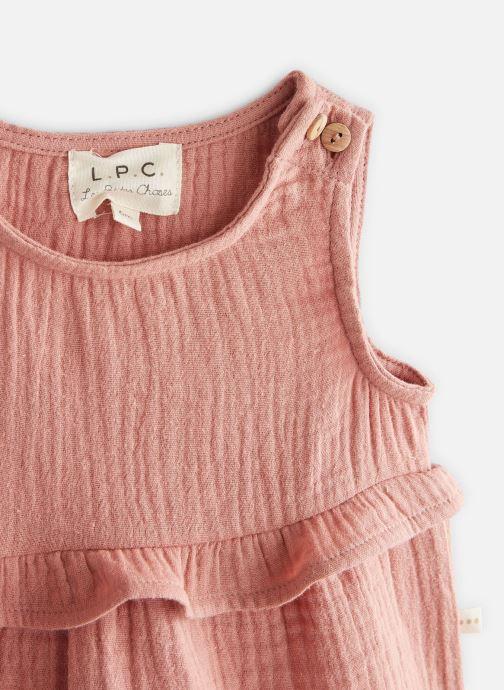 Vêtements Les Petites Choses Blouse en gaze BASHA Marron vue portées chaussures