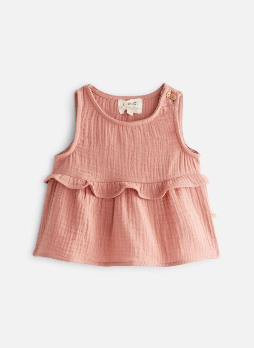 Vêtements Les Petites Choses Blouse en gaze BASHA Marron vue détail/paire