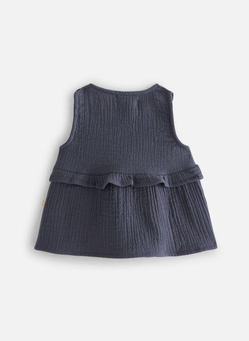 Vêtements Les Petites Choses Blouse en gaze BASHA Bleu vue bas / vue portée sac