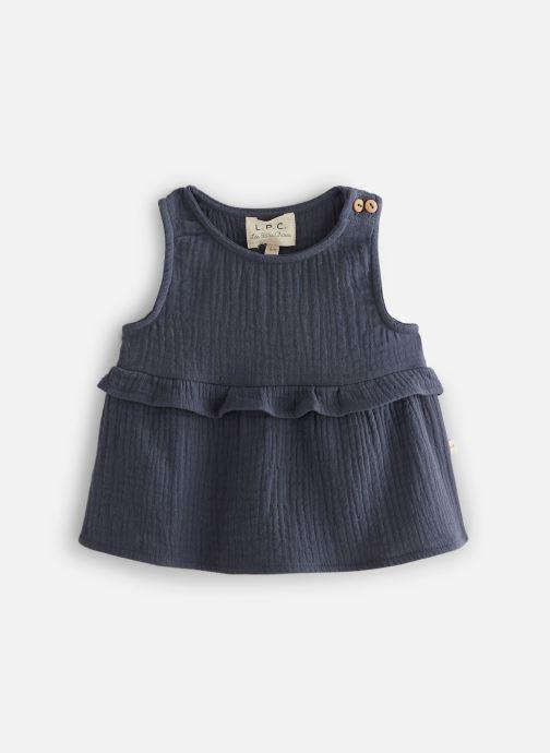 Vêtements Les Petites Choses Blouse en gaze BASHA Bleu vue détail/paire