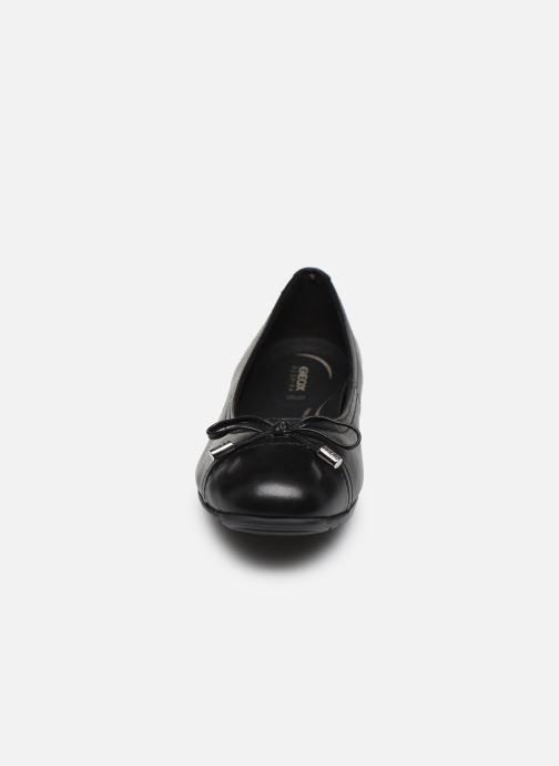 Ballerinaer Geox D ANNYTAH D927ND Sort se skoene på
