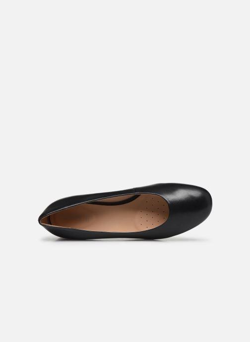Zapatos de tacón Geox D CHLOO MID D949XB Negro vista lateral izquierda