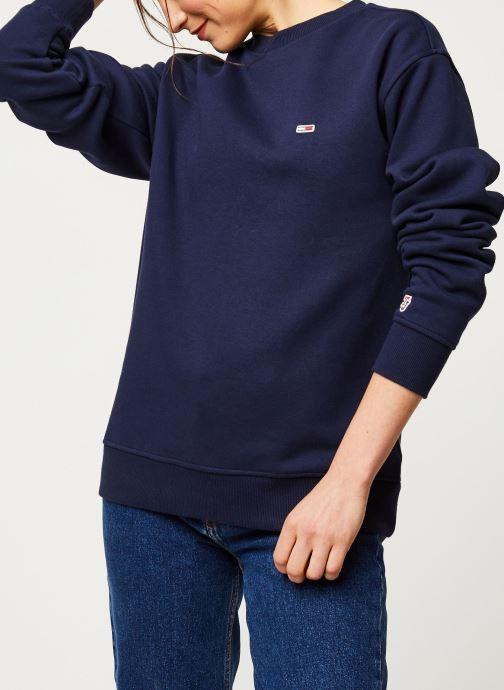 Vêtements Tommy Jeans TWJ Tommy Classics Sweatshirt Bleu vue détail/paire