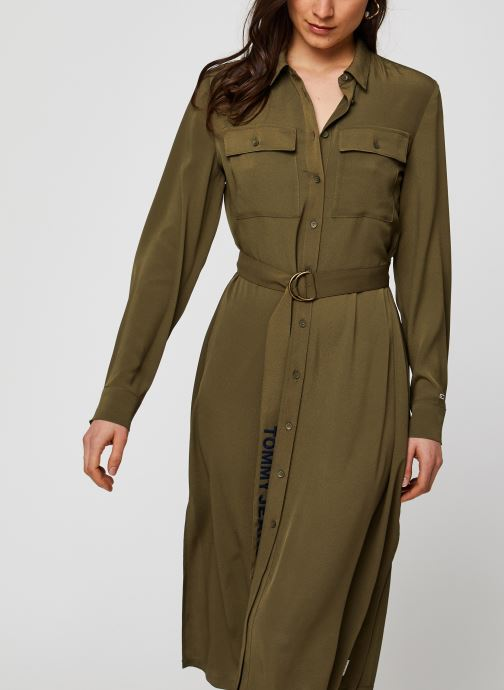 Robe midi - TWJ Midi Shirt Dress