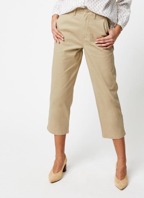 Tommy Jeans Pantalon droit - Twj High Rise Straight - Beige