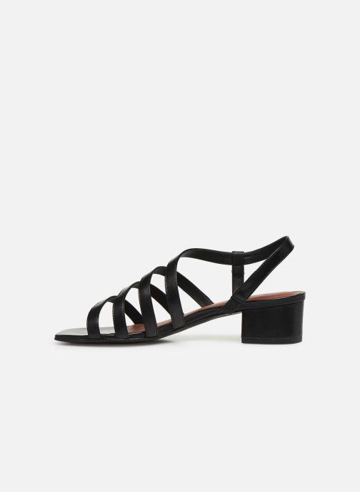 Sandales et nu-pieds Nat & Nin HALLEY Noir vue face