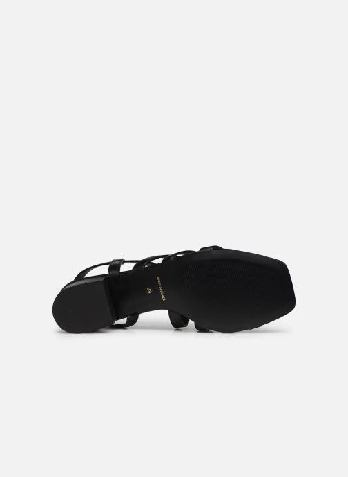 Sandales et nu-pieds Nat & Nin HALLEY Noir vue haut