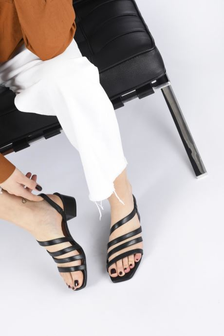 Sandales et nu-pieds Nat & Nin HALLEY Blanc vue bas / vue portée sac