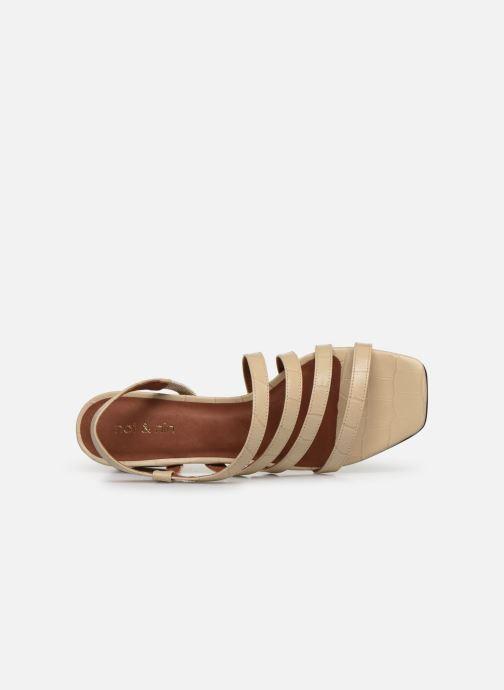 Sandali e scarpe aperte Nat & Nin HALLEY Bianco immagine sinistra