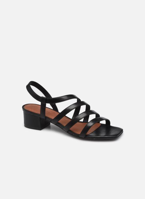Sandales et nu-pieds Nat & Nin HALLEY Noir vue détail/paire
