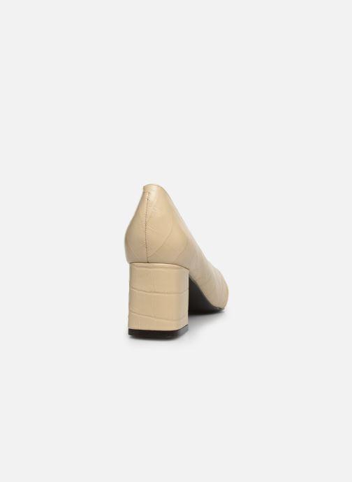Zapatos de tacón Nat & Nin PERNY Blanco vista lateral derecha
