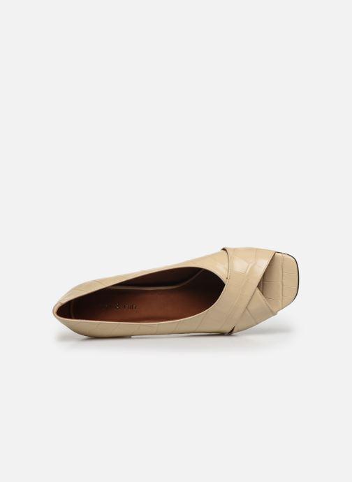 Zapatos de tacón Nat & Nin PERNY Blanco vista lateral izquierda