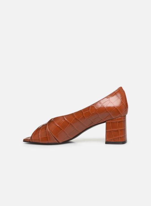 Zapatos de tacón Nat & Nin PERNY Marrón vista de frente